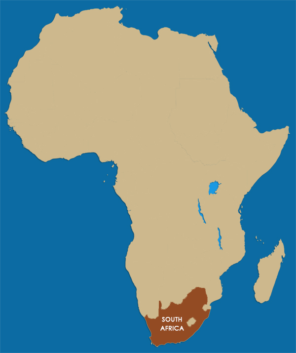 Where Is Cape Town South Africa On The Map | Map Of Africa